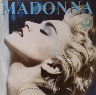 Madonna ‎- True Blue (LP) (G/VG-)